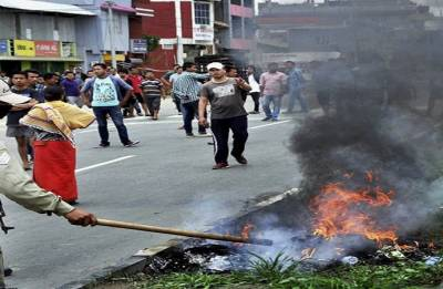 Day 2 of strike called by students' union paralyses life in Manipur