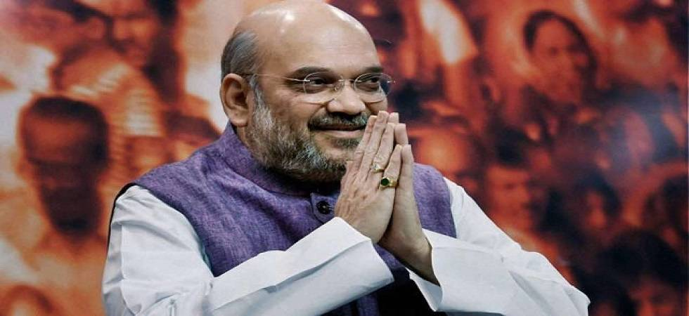 Amit Shah arrives in Jaipur to review poll preparations (File Photo- PTI)