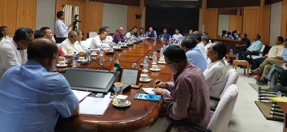 Manipur parties for special Assembly session on Naga issue (Photo: Twitter/CMO Manipur)