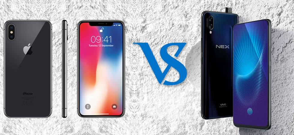 newest 191cd 85de5 iPhone X Notch vs Vivo NEX Full view display: Which is better ...