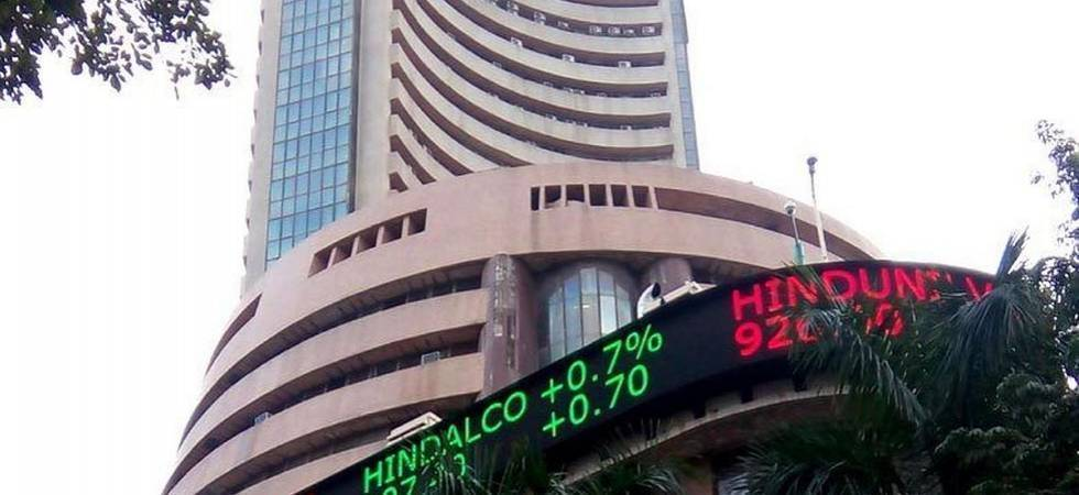 Sensex ends at record high for 3rd day on fund inflows