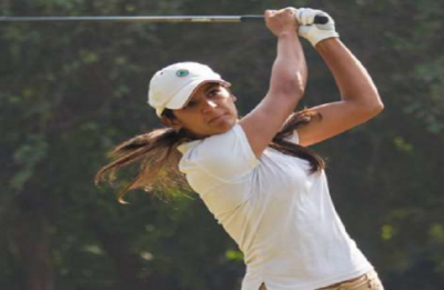 Neha moves into contention, flawless Vani rebounds to Tied-2nd in Hero WPGT