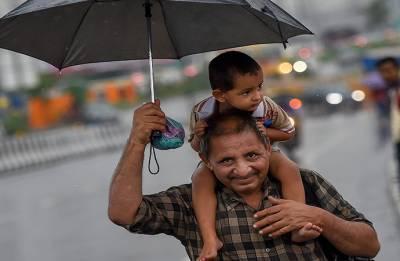 Mercury falls as rain gods show mercy on Delhi
