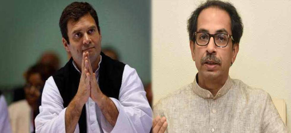 Uddhav gets birthday greetings from Rahul, eyebrows raised (Photo- PTI)