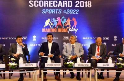 Rajyavardhan Rathore asks corporate companies to come forward and invest in development of sports