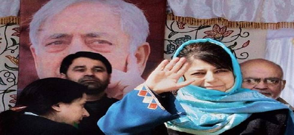 PDP president Mehbooba Mufti attends partys 19th foudation day