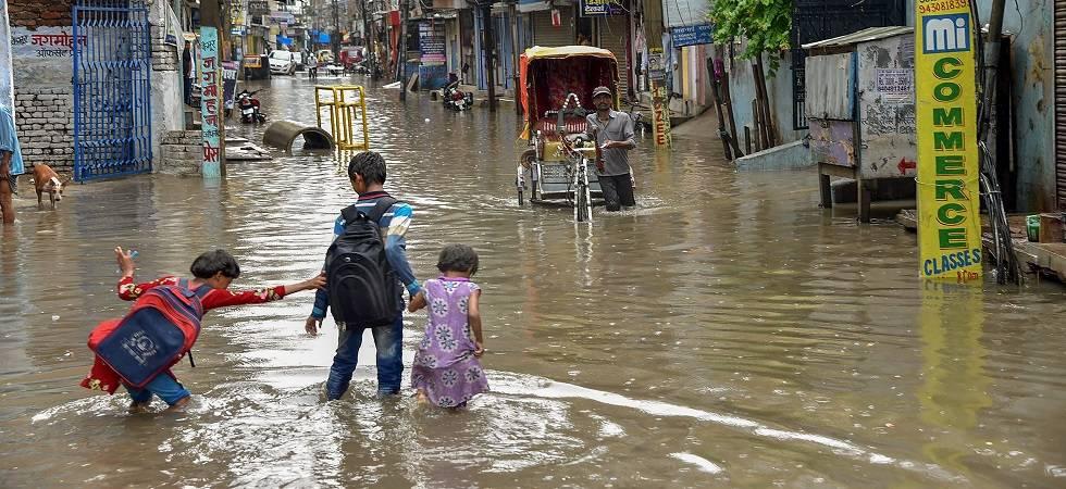 Uttar Pradesh: Heavy rains claim 58 lives, injure 53  (Photo: PTI)