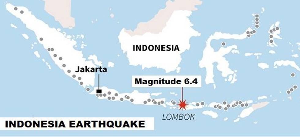 Indonesia earthquake: 10 dead, dozens injured after magnitude 6.4 quake hits Lombok island (Photo: Twitter)