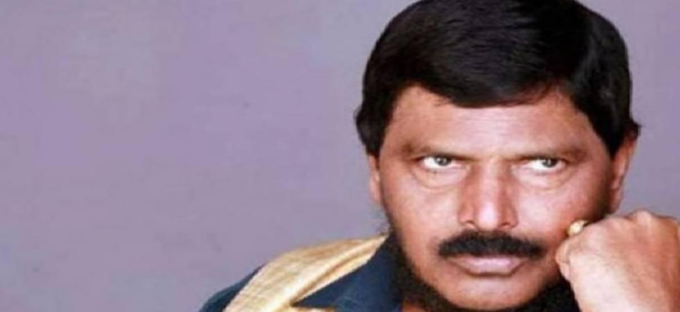 Union minister Ramdas Athawale (Photo PTI)