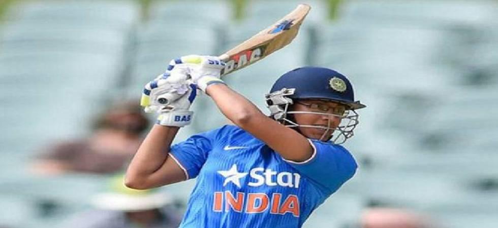 Mandhana equals fastest half-century in women's T20 cricket (BCCI image)