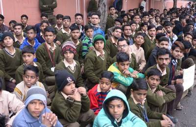 Deaf, mute students protest in Jaipur, accuse government of ignoring their needs
