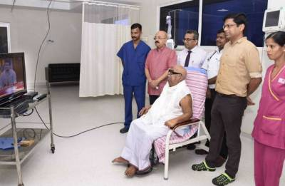 Karunanidhi stable and recovering well: TN CM Palaniswami after visiting Kauvery hospital