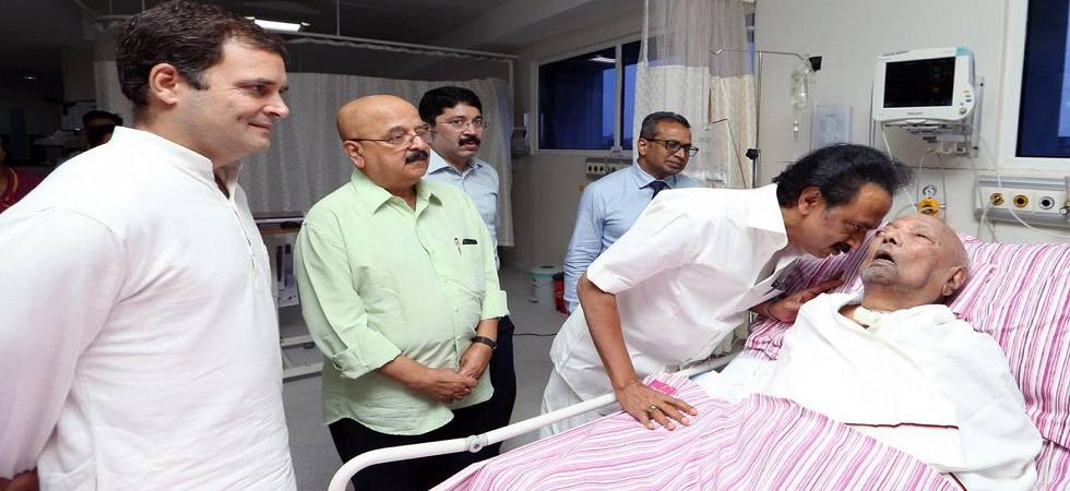 DMK chief M Karunanidhi to remain hospitalised for an extended period (Photo: Twitter)