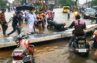 14 more deaths in UP rains, toll rises to 106