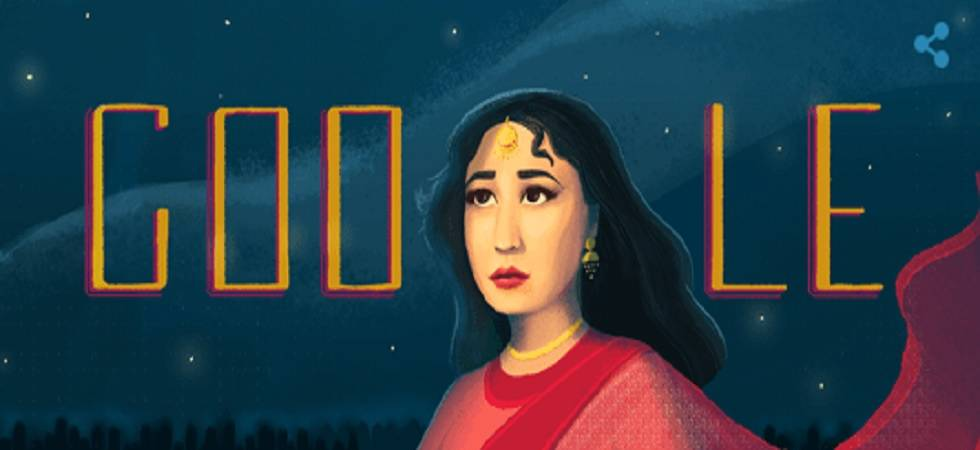 Google dedicates Doodle to Meena Kumari on her 85th birthday