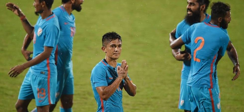 Sunil Chhetri named 'Asian Icon' by AFC on his birthday, gets praise for rivalling Ronaldo, Messi (Twitter)
