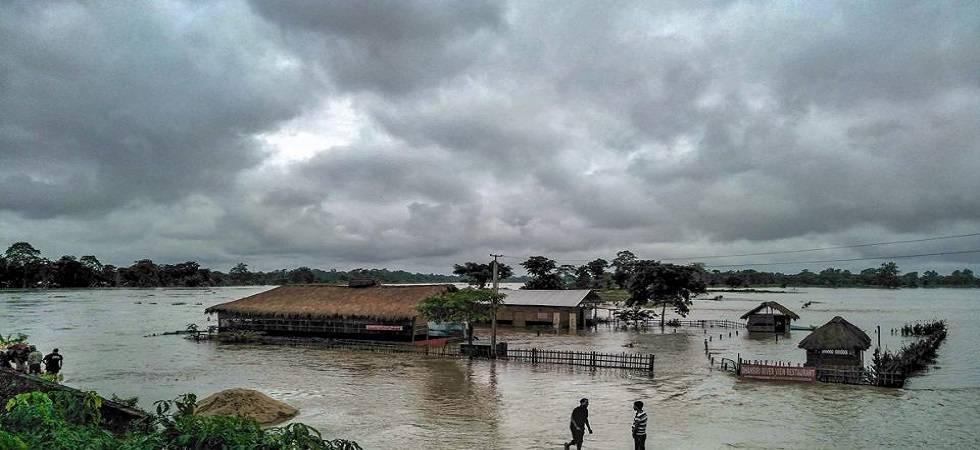 Assam flood situation worsens, toll rises to 43 (Photo- Twitter/@globalfloods_eu)