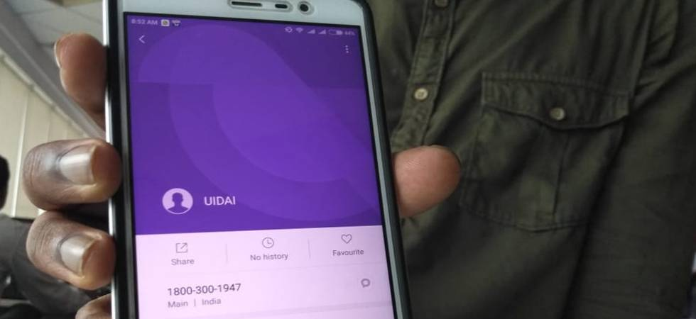 Google apologises for 'inadvertently' saving Aadhaar toll free number in Android phones (Photo: Newsnation.in)
