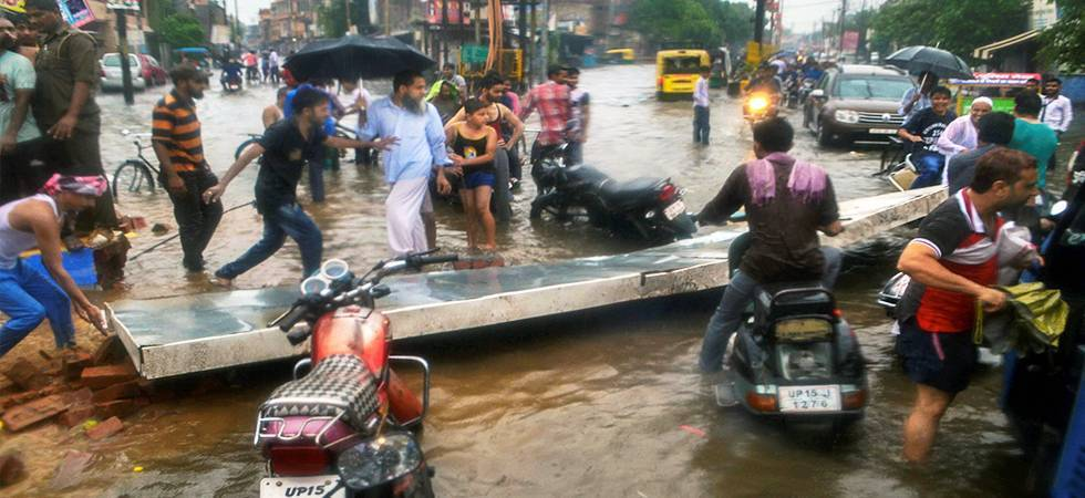 3 more killed in heavy rains in UP, major rivers  in spate (File photo: PTI)