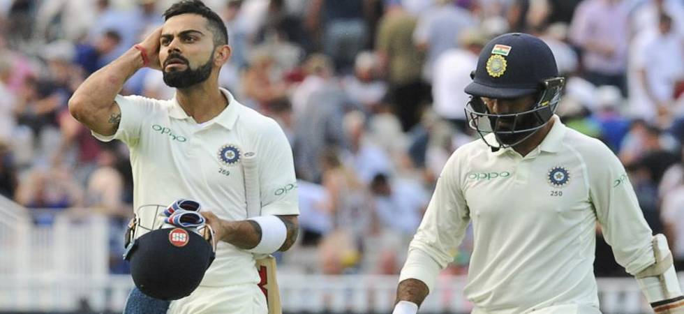 India vs England Live Score, 1st Test, Day 4: Anderson gives Karthik a send-off in first over (Photo: Twitter)