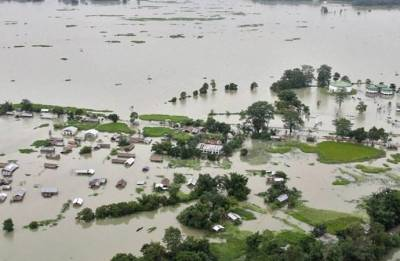 Two more die in Assam floods; toll reaches 45