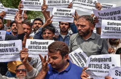 Article 35-A: Jammu and Kashmir shuts down ahead of Supreme Court hearing today