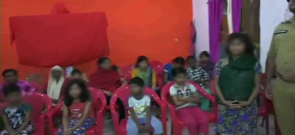 Uttar Pradesh: 24 girls rescued from Deoria shelter home, couple arrested (Photo: ANI Twitter)