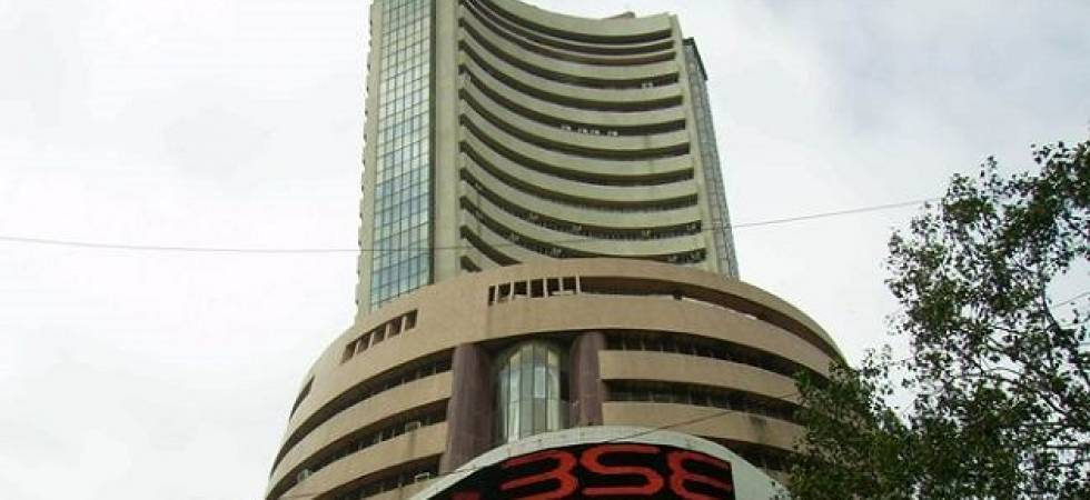 Sensex slips from record on profit-booking; Nifty end at new high (file photo)