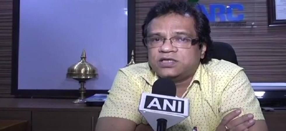 Assam NRC coordinator Prateek Hajela (Photo: Twitter/ANI)
