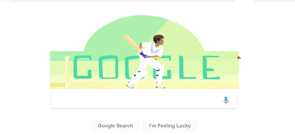 Google dedicates Doodle to Dilip Sardesai on his 78th birth anniversary