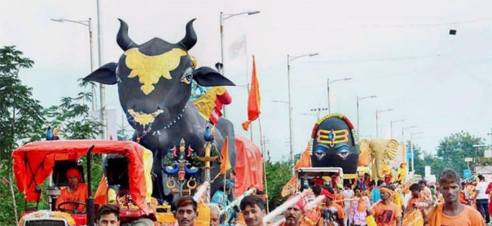 Kanwariya yatra in Delhi causes traffic jam (Photo: PTI)
