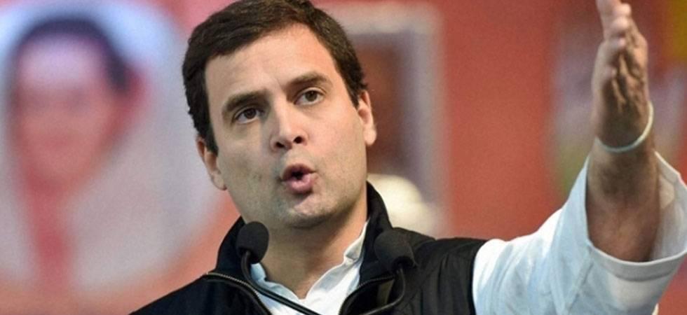 Rahul Gandhi to inaugurate new Congress office 'Rajiv Bhawan' in Chhattisgarh (PHOTO: PTI)