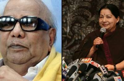 Karunanidhi Burial: DMK, AIADMK continue to trade barbs on Marina beach issue