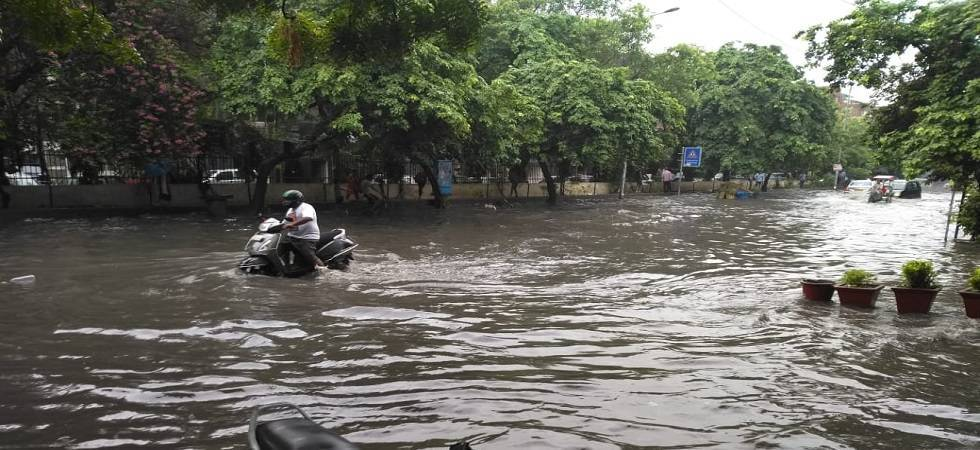 It's a wet and cloudy day in Delhi and the NCR region – Noida, Gurugram and Faridabad (PHOTO: Newsnation.in)