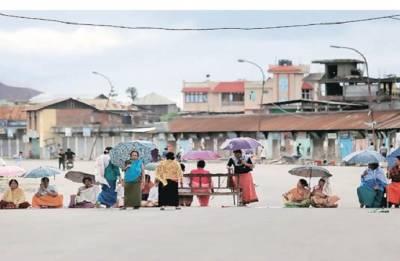 Manipur: Civil organisations call total week-long statewide bandh