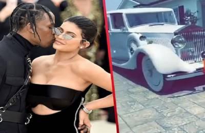 Travis Scott gifts Kylie Jenner Rolls Royce for 21st birthday