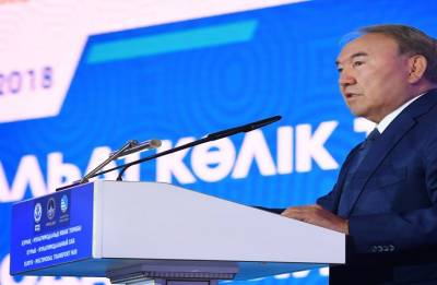 Kazakh leader touts port on China's 'Silk Road'