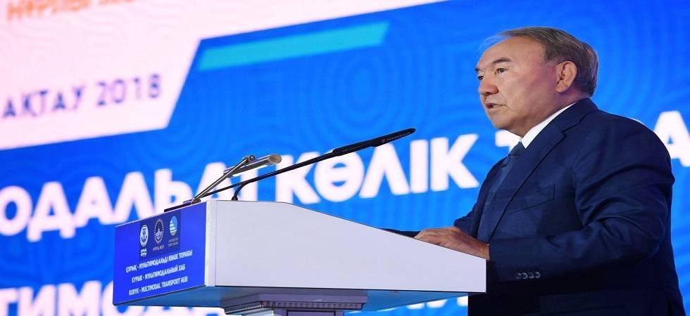President of the Republic of Kazakhstan, Nursultan Nazarbayev (Photo- Twitter/@president_of_kz)