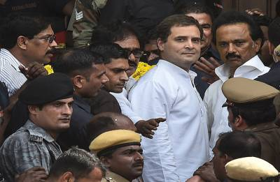 Income Tax Department sends notice to Rahul Gandhi over his 2011-12 I-T return
