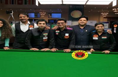Shandilya, Rupesh lead strong field: CCI Billiards Classic
