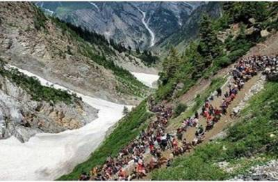 Amarnath Yatra 2018: Yatra suspended from Jammu base camp due to inclement weather