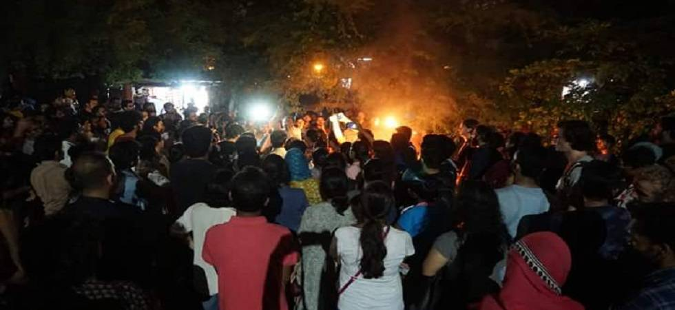 JNU students' union president Umar Khalid was attacked by assailants outside the Constitution Club near Parliament House on August 13, 2018 (Photo: Twitter)