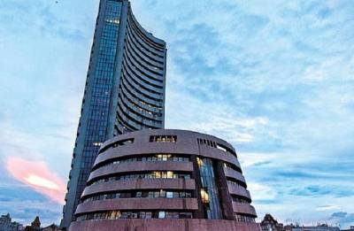 Sensex falls over 200 points on weak macroeconomic cues