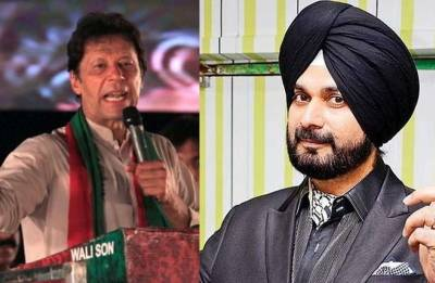 Navjot Singh Sidhu arrives in Pakistan, to attend friend Imran Khan's oath taking ceremony