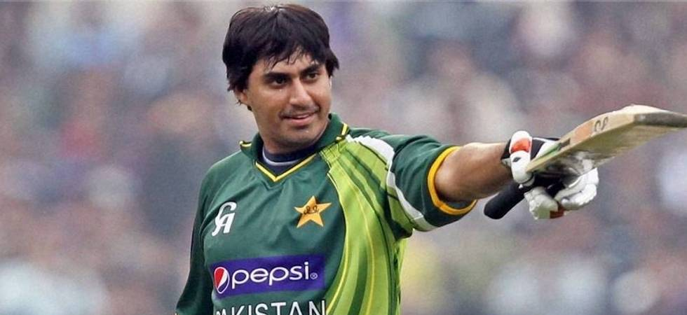 Pakistan opener Nasir Jamshed banned for 10 years for spot fixing (Photo: Twitter)