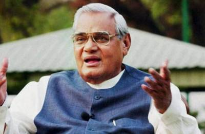 Vajpayee and his father were classmates in Kanpur!
