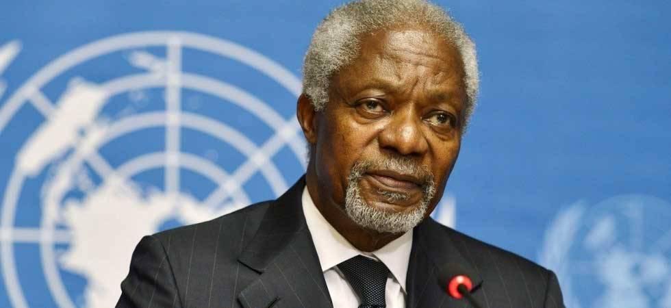 PM Modi condoles death of 'great African leader' Kofi Annan
