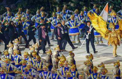 Indonesia celebrates heritage, traffic and world peace at energetic Asiad opening ceremony