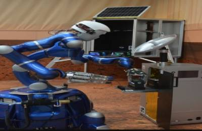 Humanoid Justin gearing up for 'realistic potential exploration' of Mars