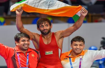 Asian Games 2018 Day 1: Bajrang Punia wins first gold for India; Sushil Kumar eliminated